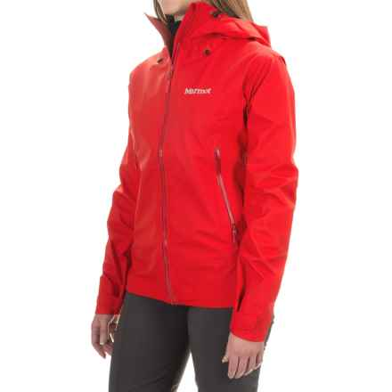 Marmot Starfire Jacket - Waterproof (For Women) in Cherry Tomato - Closeouts