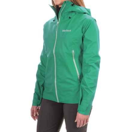 Marmot Starfire Jacket - Waterproof (For Women) in Green Garnet - Closeouts