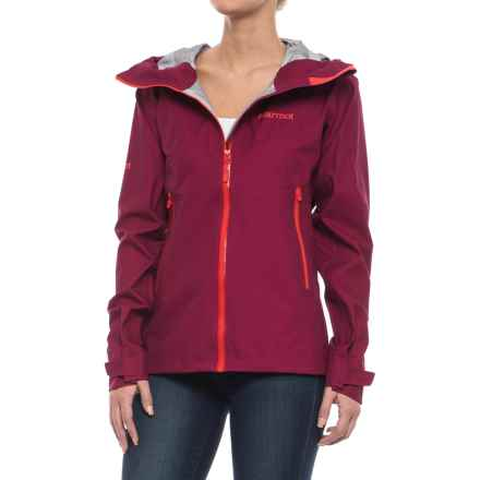 Marmot Starfire Jacket - Waterproof (For Women) in Red Dahlia - Closeouts