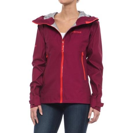 Marmot Starfire Jacket - Waterproof (For Women) in Red Dahlia