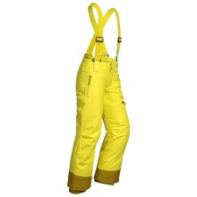 Marmot Starstruck Snow Pants - Waterproof, Insulated (For Girls) in Vibrant Yellow - Closeouts