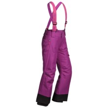 Marmot Starstruck Snow Pants - Waterproof, Insulated (For Little and Big Kids) in Beet Purple - Closeouts