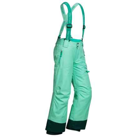 Marmot Starstruck Snow Pants - Waterproof, Insulated (For Little and Big Kids) in Green Frost - Closeouts
