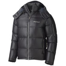 Marmot Stockholm Down Jacket - 650 Fill Power (For Men) in Black - Closeouts