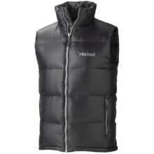Marmot Stockholm Down Vest - 650 Fill Power (For Men) in Black - Closeouts