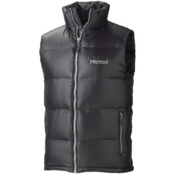 Marmot Stockholm Down Vest - 650 Fill Power (For Men) in Black