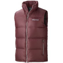 Marmot Stockholm Down Vest - 650 Fill Power (For Men) in Tawny Port - Closeouts