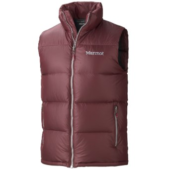 Marmot Stockholm Down Vest - 650 Fill Power (For Men) in Tawny Port