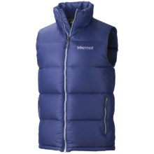 Marmot Stockholm Down Vest - 650 Fill Power (For Men) in Victory Blue - Closeouts