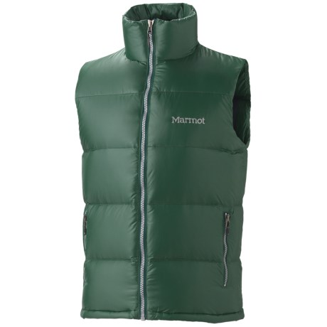 Marmot Stockholm Down Vest - 650 Fill Power (For Men) in Wintergreen
