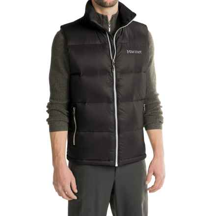 Marmot Stockholm Down Vest - 700 Fill Power (For Men) in Black - Closeouts
