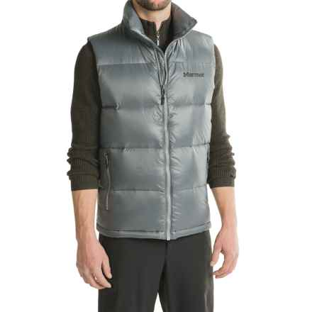 Marmot Stockholm Down Vest - 700 Fill Power (For Men) in Steel Onyx - Closeouts