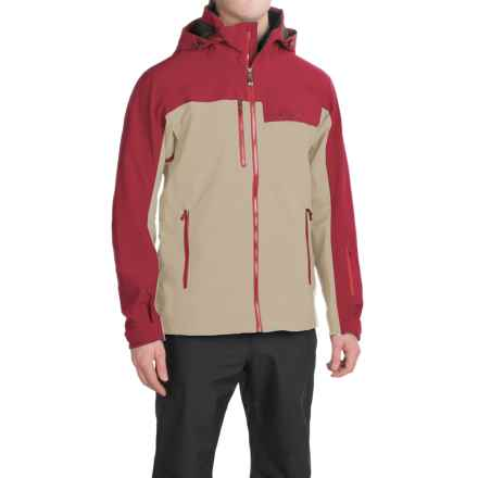 Marmot Storm King Polartec® NeoShell® Ski Jacket - Waterproof (For Men) in Pebble/Brick - Closeouts