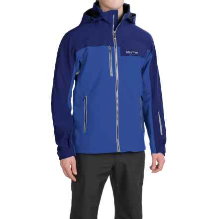 Marmot Storm King Polartec® NeoShell® Ski Jacket - Waterproof (For Men) in Surf/Arctic Navy - Closeouts