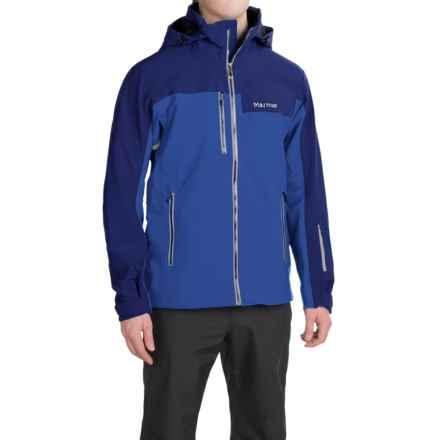Marmot Storm King Polartec® NeoShell® Ski Jacket - Waterproof (For Men) in Surf/Arctic Navy - Closeouts