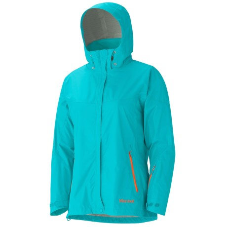 Marmot Strato Jacket - Waterproof (For Women) in Sea Glass