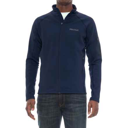 Marmot Stretch Fleece Jacket (For Men) in Arctic Navy - Closeouts
