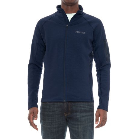 Marmot Stretch Fleece Jacket (For Men) in Arctic Navy