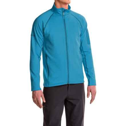 Marmot Stretch Fleece Jacket (For Men) in Dark Atomic - Closeouts