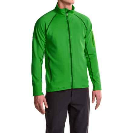 Marmot Stretch Fleece Jacket (For Men) in Green Bean - Closeouts