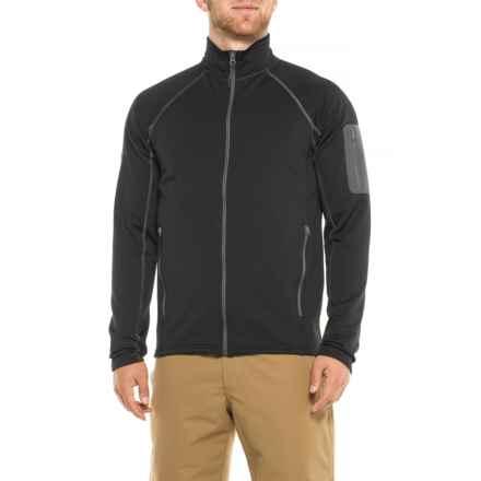 Marmot Stretch Fleece Jacket (For Men) in New Black - Closeouts