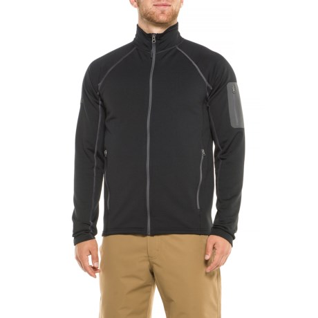 Marmot Stretch Fleece Jacket (For Men) in New Black