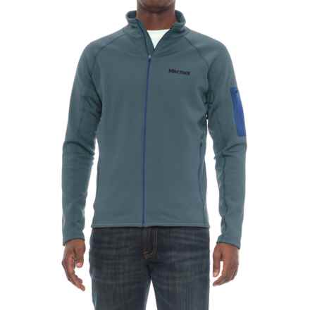 Marmot Stretch Fleece Jacket (For Men) in Storm Cloud - Closeouts