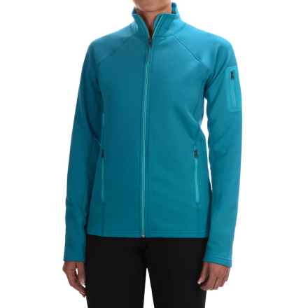 Marmot Stretch Fleece Jacket - Full Zip (For Women) in Dark Atomic - Closeouts
