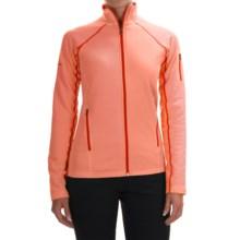Marmot Stretch Fleece Jacket - Full Zip (For Women) in Melon Blush - Closeouts