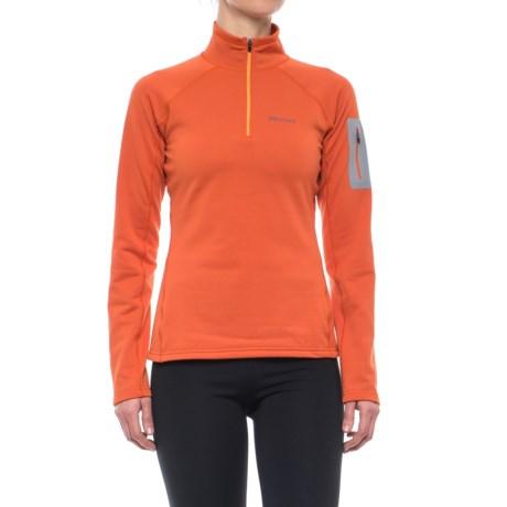 Marmot Stretch Fleece Jacket - Zip Neck (For Women)