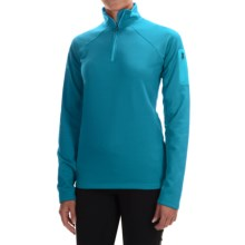 Marmot Stretch Fleece Jacket - Zip Neck (For Women) in Dark Atomic - Closeouts