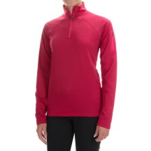 Marmot Stretch Fleece Jacket - Zip Neck (For Women) in Raspberry - Closeouts