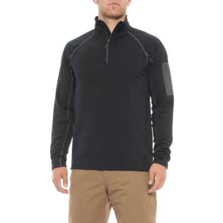 Marmot Stretch Fleece Shirt - Zip Neck, Long Sleeve (For Men) in New Black - Closeouts