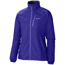 Marmot Stride Jacket - Wind Resistant (For Women) in Astral Blue - Closeouts