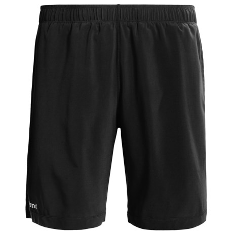 Marmot Stride Shorts - UPF 30 (For Men) in Black/Slate Grey