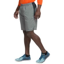 Marmot Stride Shorts - UPF 30 (For Men) in Cinder/Black - Closeouts
