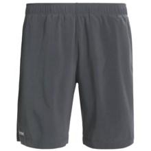 Marmot Stride Shorts - UPF 30 (For Men) in Slate Grey/Black - Closeouts