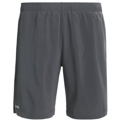 Marmot Stride Shorts - UPF 30 (For Men) in Black/Slate Grey