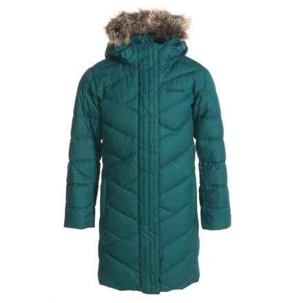 Marmot Strollbridge Down Jacket - 700 Fill Power (For Girls) in Deep Teal - Closeouts