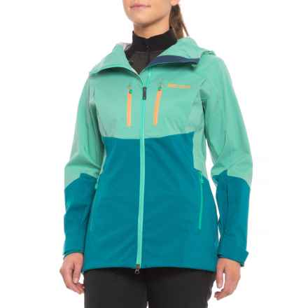 Marmot Sublime Jacket - Waterproof (For Women) in Waterfall/Late Night - Closeouts
