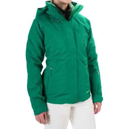 Marmot Sugar Loaf Component Jacket - Waterproof, 3-in-1 (For Women) in Green Garnet - Closeouts