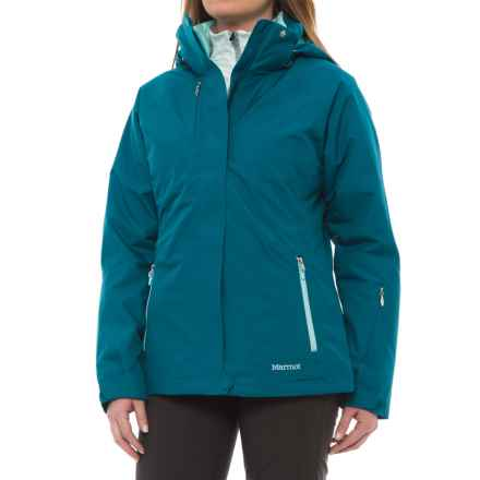 Marmot Sugar Loaf Component Jacket - Waterproof, 3-in-1 (For Women) in Late Night - Closeouts