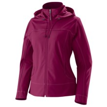 Marmot Summerset Jacket - Soft Shell (For Women) in Dark Rose - Closeouts