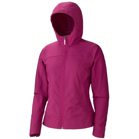 Marmot Summerset Soft Shell Jacket  (For Women) in Plum Rose