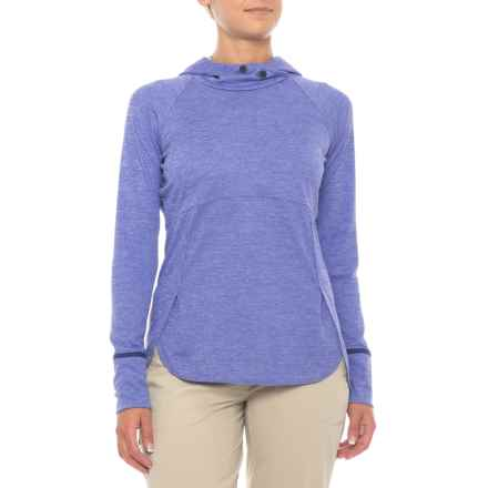 Marmot Sunrift Hoodie - UPF 50, Long Sleeve (For Women) in Lilac - Closeouts