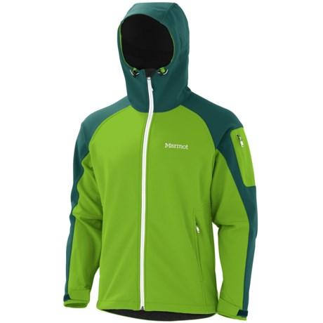 Marmot Super Gravity Soft Shell Jacket (For Men) in Green Envy/Gator
