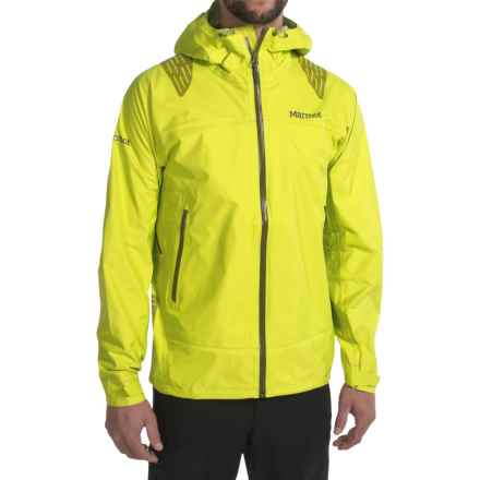 Marmot Super Mica MemBrain® Jacket - Waterproof (For Men) in Yellow Burst - Closeouts
