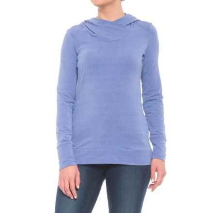 Marmot Tallac Hoodie - UPF 30 (For Women) in Dusty Denim Heather - Closeouts