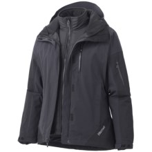 Marmot Tamarack Component Jacket - Waterproof, Insulated, 3-in-1 (For Women) in Black - Closeouts