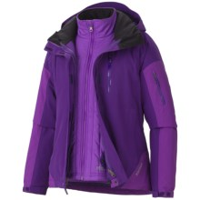 Marmot Tamarack Component Jacket - Waterproof, Insulated, 3-in-1 (For Women) in Deep Purple/Vibrant Purple - Closeouts
